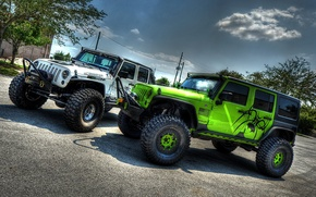 Обои Tuning, jeep Wrangler, Off Road