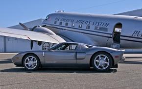 Картинка Ford, Airplane, Gt