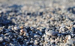 Картинка море, камни, много камней