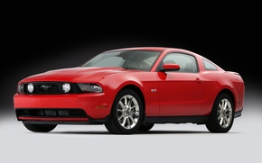 Обои GT 5.0, 2011, Mustang, Ford