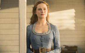 Картинка HBO, Westworld, Мир дикого запада, Dolores, скриал, Долорес