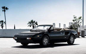 Картинка Ferrari, кабриолет, феррари, 1984, Cabriolet, Mondial, мондиаль