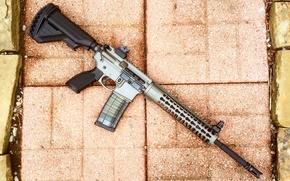 Картинка оружие, AR-15, штурмовая винтовка