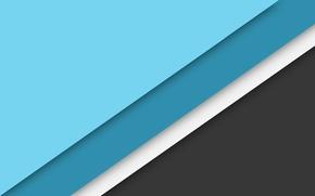 Картинка белый, линии, серый, голубой, wallpaper, material