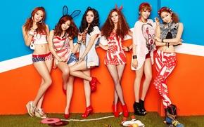 Картинка музыка, девушки, азиатки, K-Pop, Dal Shabet, Южная корея