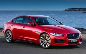 Обои 2015, ягуар, Jaguar, XE S