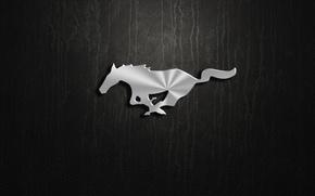 Картинка mustang, logo, ford