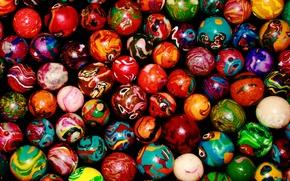 Картинка шарики, цвет, палитра, разноцветные