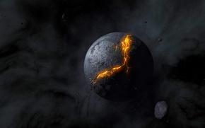 Картинка космос, обои, планета