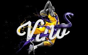 Картинка Баскетбол, Los Angeles, NBA, Lakers, Kobe Bryant, Коби Брайант, Лейкерс