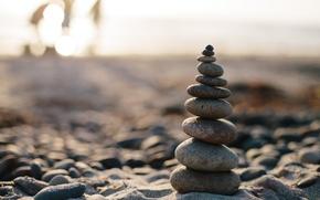 Картинка макро, камни, баланс
