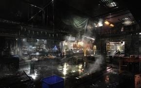 Картинка рынок, square enix, магазины, deus ex, Deus Ex: Mankind Divided, Mankind Divided, golem city
