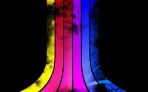 Обои цвета, spectrum, спектрум, линии
