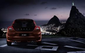 Картинка дизайн, Volvo, вольво, R-Design, C30, Rio De Janeiro, с30, рио де жанейро