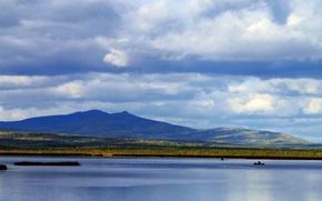 Картинка горы, озеро, княсьпа