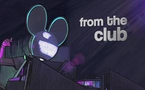 Картинка Музыка, Улыбка, Electro House, Deadmau5, Мышь, Progressive House, Дэдмаус, Уши, From The Club