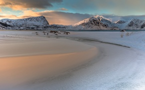 Картинка Norway, Lofoten, Lee Filters, Sunrise Reflections