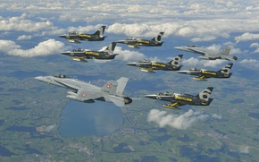 Картинка самолет, Jet, Breitling, Breitling - Jet Team