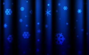 Картинка снежинки, новый год, текстура, шторы, текстуры, фон новогодние