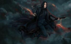 Обои Professor, Гарри Поттер, Alan Rickman, северус снейп, Алан Рикман, Severus Snape, Harry Potter, преподаватель
