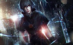 Картинка парень, Final Fantasy XV, final fantasy 15, noctis lucis caelum