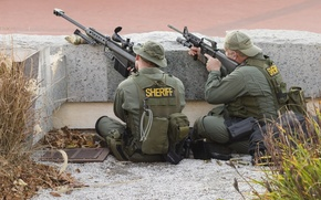 Обои barrett M82, sniper, sheriff