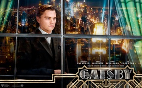 Картинка Нью-Йорк, New York, Леонардо ДиКаприо, Leonardo DiCaprio, The Great Gatsby, американская классика, 20-е годы, Френсис …
