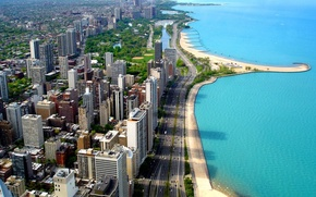 Обои Чикаго, побережье