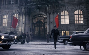 Обои Tom Hanks, Steven Spielberg, Шпионский мост, Bridge of Spies