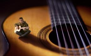 Картинка музыка, гитара, музыкант