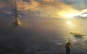 Картинка пират, ассасин, эдвард, Assassin's Creed IV: Black Flag
