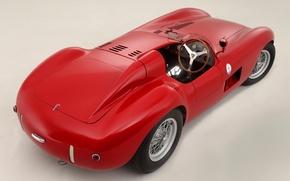 Картинка Maserati, Мазерати, классика, вид сзади, 1956, 300S