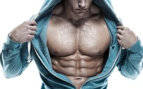 Картинка muscles, men, sweating