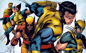 Картинка маска, костюм, когти, Росомаха, Логан, Wolverine, X-Men, Logan, комикс, марвел, Marvel Comics, Люди Икс, James …