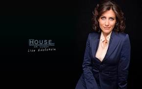 Обои сериал, Лиза Кадди, House M.D., Доктор Хаус