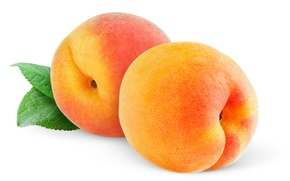 Обои белый фон, фрукты, персики, fruit, peaches