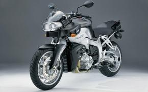 Картинка мотоцикл, тёмный фон, BMW к1200r