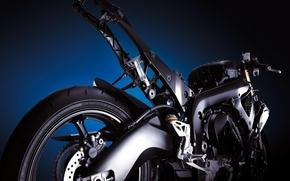 Обои рама, мотоцикл, механизмы, двигатель