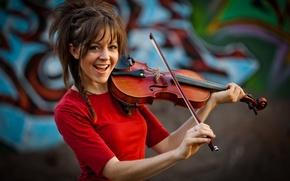 Картинка violin, девушка, Линдси Стирлинг, скрипка, Lindsey Stirling, скрипачка