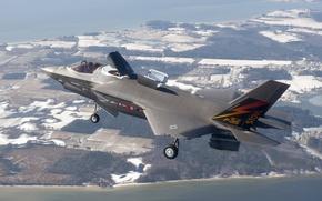 Картинка оружие, самолёт, F-35B Lightning