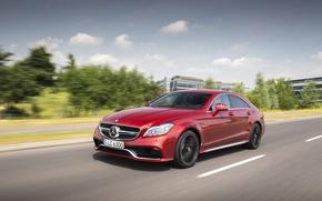 Обои Mercedes-Benz, cls-class, 2014, AMG, C218, мерседес, амг, универсал