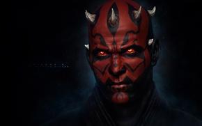 Картинка star wars, The Sith Lord, Darth Maul, Дарт Мол, звездные войны, ситх