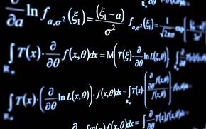 Картинка символы, формула, дифференциальные уравнения, функция, интеграл, высшая математика