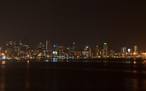 Картинка ночь, город, дурбан