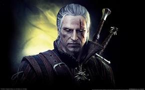 Картинка взгляд, ведьмак, the witcher 2, assassins of kings