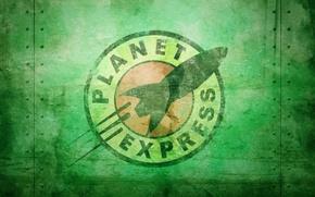 Обои фильм, сериал, футурама, Futurama, мульт, Межпланетный экспресс, Planet Express