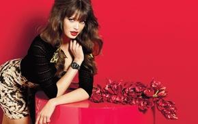 Картинка девушка, модель, фотосессия, Sandrah Hellberg, guess, accessoriess