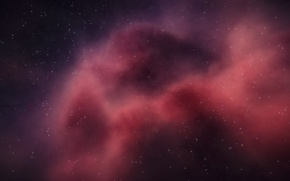 Картинка космос, звёзды, Туманность, мироздание