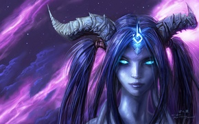 World of warcraft, draenei, wow, дренейка обои