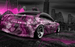 Обои Тони Кохан, Anime, Tony Kokhan, Аэрография, Aerography, Soarer, el Tony Cars, Photoshop, Фотошоп, Обои, Тойота, ...